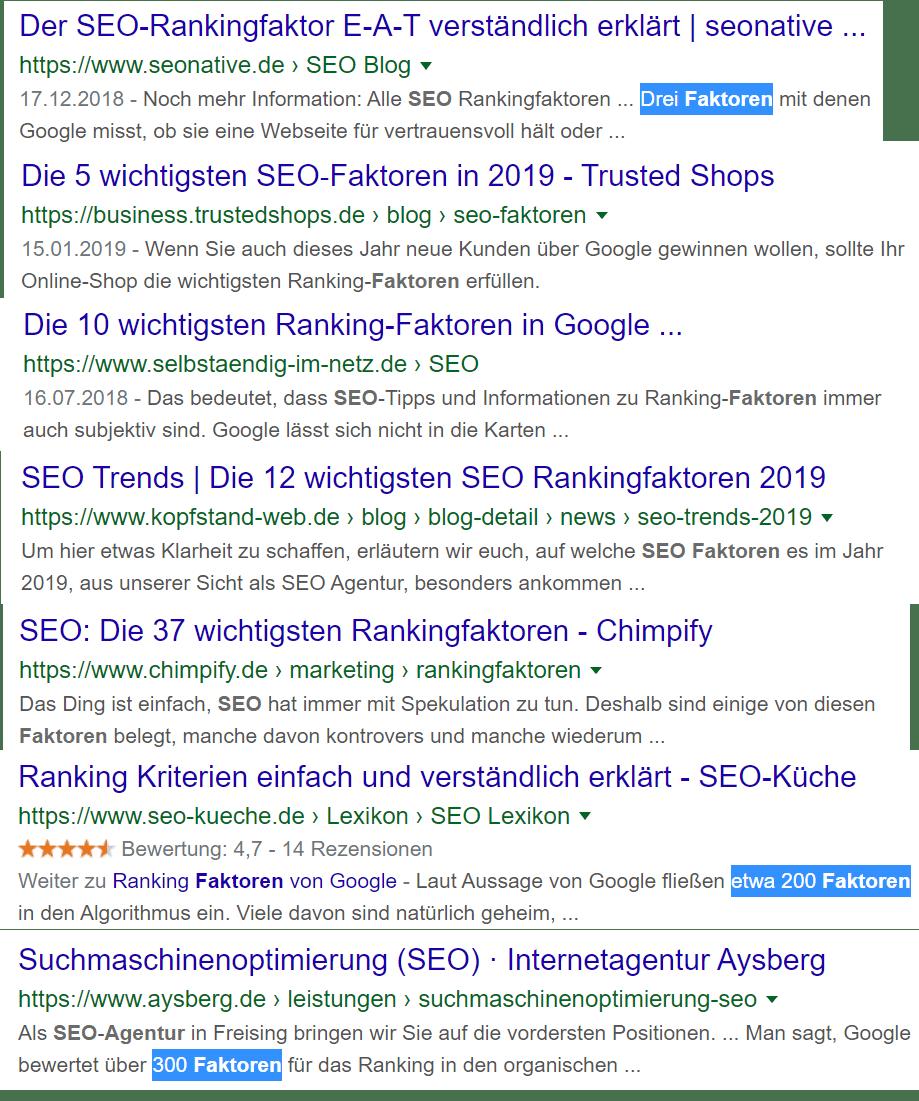 Das Spannende am Google-Algorithmus ist, dass man nur erahnen kann, nach welchen Kriterien das Ranking berechnet wird.